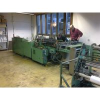 PE bag making and wicketing machine