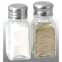 glass salt & pepper bottle