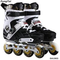 Inline Roller Skate Shoes Free-Line for Adults Both Men And Women with 4 wheels 72 76 80mm (DA1003) thumbnail image