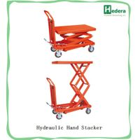 Hydraulic lift platform hydraulic Hand Operated scissor lift table