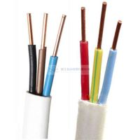3C Solid Copper Conductor PVC Insulated and Sheathed Flat Cable
