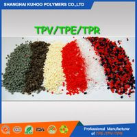 SEBS/PP EPDM based TPE/TPV rubber granule for auto parts