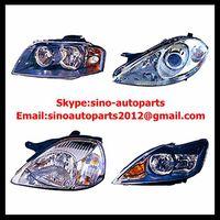 Auto head light headlamp car head lamps
