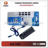 4 port usb 3.0 hub ethernet hub adapter