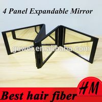 Quality Guaranteed Durable 360 Degrees Foldable Mirror Related Hair Building Fibers OEM