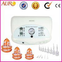 Hot sale Portable electro stimulation vacuum breast enlargement equipment for breast care Au-6802
