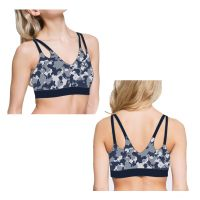 newest design custom wholesale sexy sports racerback bra for women