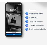 Smart Mobile App door lock BABA-8200 Swipe Card Password Opening Electronic Automatic Door Lock thumbnail image