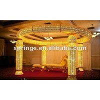 2013 royal crown wedding decoration pillar top quality