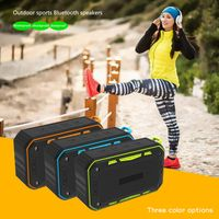 S618 Portable IP67 Waterproof Bluetooth Speaker Outdoor Sport Riding Climbing Bicycle Speakers Hands thumbnail image