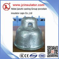 suspension porcelain disc insulator