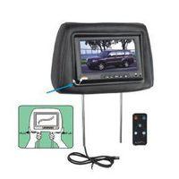 Car Monitors - Headrests with Pillow Monitors