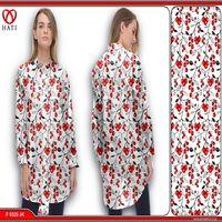 Cotton 100% Batik Fabric Printing For Fashion