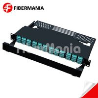 1u 192 Fiber Ultra High Density MTP Patch Panel Fully Loaded