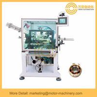 External armature coil winding machine