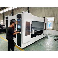 Customer made AKJ1020F 10002000 mm fiber laser metal laser cutting 2000 watt cutting machine with f thumbnail image