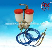 HX-800 Two Component Polyurethane Waterproof Coating Epoxy Resin Injection Pump