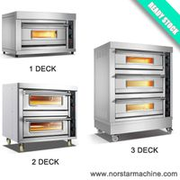 Ready stock electric bakery deck oven for sale