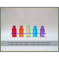color painting round glass eliquild bottle thumbnail image