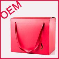 custom printed paper bag box with handle(BLF-PB022) thumbnail image