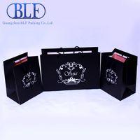 Black paper bag (BLF-PB029)