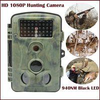 Wildlife Camera 1080P Trail Camera 940nm Black Led Invisible Animal Trap Hunting Camera