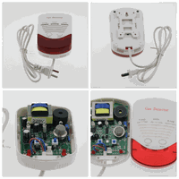 Wireless gas detector alarm lpg leakage detector