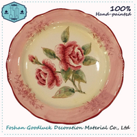 Custom Made RounShapes Ceramic Wholesale Restaurant Dinner Plates