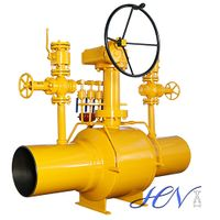 Welded Body Side Entry Motorized Natural Gas Ball Valve thumbnail image