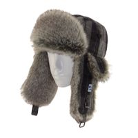 winter fur Russian Ushanka earflap cap hat trapper thumbnail image
