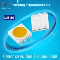 (lm80 60ma amber )5050 smd led light yellow gold