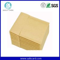 Simple Design Nature Color Without Printing Kraft Bubble Envelopes