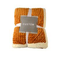 Sherpa Fleece Blanket Winter Thick Plush Blanket Fuzzy Soft Throw Blanket Microfiber