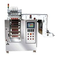 multi lanes sachet tomato paste packing machine