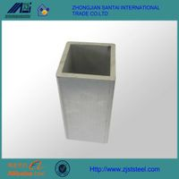 ASTM A500 stainless steel square pipe for ornament