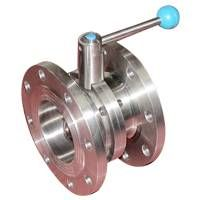 Sanitary FlangeD Butterfly Valve thumbnail image
