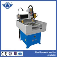 Small and top quality CNC metal milling machine, metal cnc router_JK-4040m thumbnail image