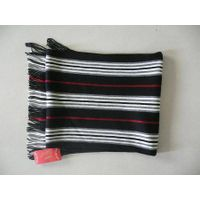 man 's knitted scarf thumbnail image