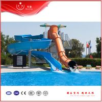 Two different kinds of slides for children on sale