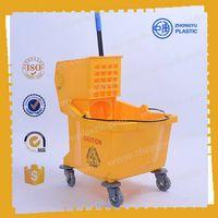 ZY-402 36L Mop Bucket Trolley, Mop wringer bucket thumbnail image