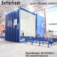 Betterfresh Customized Vegetable Vacuum Cooling Machine vehicle Mounted fast cooler