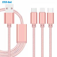 China wholesale super Speed nylon usb cable For Samsung mobile phone thumbnail image