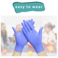 Nitrile/Latex Rubber Protective Gloves Children's Epidemic Prevention Durable Food Grade Disposable thumbnail image