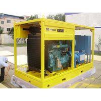 Diesel engine driven pipeline cleaner LF-16/50,water blaster