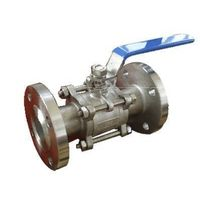 ANSI CLASS150/ DIN PN16/25/40 CARBON STEEL OR STAINLESS STEEL 3-PC BALL VALVE BOLTED CAP DESIGN thumbnail image