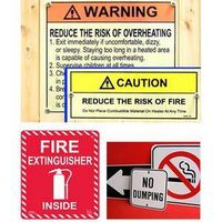 PVC,Iron plate and Steel plate Safety Signs & Labels thumbnail image