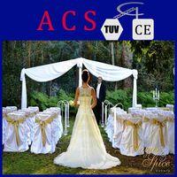 Top quality ! ACS wedding pipe drape