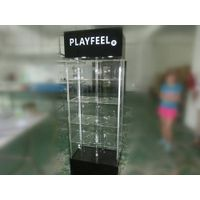 Large acrylic display shelf  acrylic products display shelf