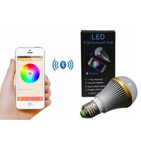 5W Smart RGB LED Bulb Bluetooth Controlled