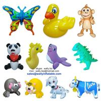inflatable toys, inflatable animal toys, small inflatable toy animal for pools